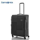 新秀丽(Samsonite)Cubix时尚休闲拉杆箱 万向飞机轮男女旅行箱登机箱 20英寸 黑色I19*09001