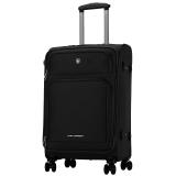 爱华仕(OIWAS)飞机轮拉杆箱6098 休闲登机行李箱 男女出差商务旅行箱 20英寸黑色