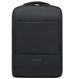 新秀丽双肩包电脑包14英寸男女背包书包 Samsonite商务旅行包BU1 黑色
