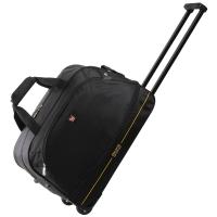爱华仕(OIWAS)拉杆包 防泼水大容量户外旅行袋 休闲运动拉杆包 8001黑色
