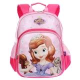 迪士尼(Disney)苏菲亚小公主儿童书包女小学生书包 卡通轻便学生双肩背包 SD10034苏菲亚玫红