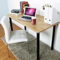 尼德 亚当系列E1级环保台式电脑桌子办公AC2BB-E1(120*60)柚木面黑腿