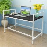 香可升降电脑桌 书桌 写字台 可自由调节高度黑白色