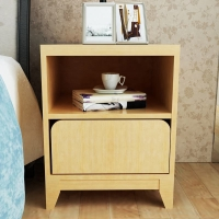 HMJIA HJ-C301J-CF简约床头柜抽屉柜枫木色