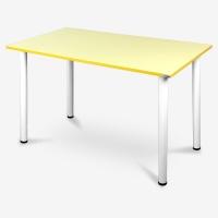尼德 亚当系列E1级环保书桌子家用AC2HW-E1(120*60)黄面白腿