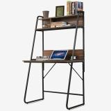 生活诚品 电脑桌 书桌 台式电脑桌子 带书架家用桌 桌CJ15890B
