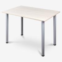 尼德(need) 多功能简约学习书桌子 寝室家用 AC2AS(100*60)  E1级环保健康 粉橡面灰腿