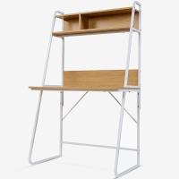 生活诚品 电脑桌 书桌 台式电脑桌子 带书架家用桌 桌CJ15890W