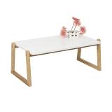 慧乐家 茶几边桌 80cm茶台桌边几小方桌炕桌矮桌实木腿客厅北欧简易榻榻米桌现代简约茶桌 11400