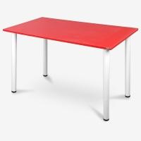 尼德 亚当系列E1级环保书桌子家用AC2IW-E1(120*60)红面白腿