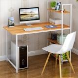 蔓斯菲尔(MSFE)电脑桌 台式 书桌 桌子 带书架 办公桌