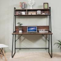 生活诚品 电脑桌 书桌 台式电脑桌子 带书架家用桌 桌CJ15812B