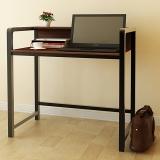 慧乐家 电脑桌 泊雅特双层写字桌 学习桌桌子 浅胡桃木色 22118