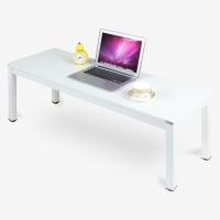 尼德(need)茶几 家用简易日式小炕桌子 AF4DW (120*40) E1级环保无味 暖白面白框架