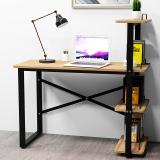 酷林(KULIN)电脑桌 书桌书架组合简约台式家用办公桌 学生学习桌写字台