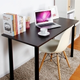 尼德 亚当系列E1级环保台式电脑桌子办公AC2CB-E1(120*60)黑橡面黑腿