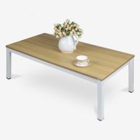 尼德(need)电脑桌 家用简易日式小炕桌子 AF4BW (120*60) E1级环保无味 柚木面白框架