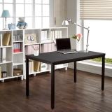 尼德(need)餐桌时尚格耐用餐桌子 办公家具家用会议电脑桌子 AC3CB (120*60) E1级环保无味 黑橡面黑框架