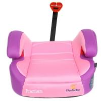 德国怡戈(Ekobebe) 汽车儿童安全座椅 增高垫 宝宝坐垫EKO-008 适用3岁-12岁 isofix硬接口 粉色