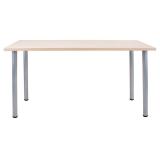 尼德(need)加大台式办公电脑桌子 时尚简约家用办公学习专用 AC1AS-E1 (140*60) E1级环保无味 粉橡面灰腿