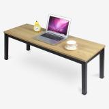 尼德(need)茶几 家用简易日式小桌子 AF4BB (120*40) E1级环保无味 柚木面黑框架