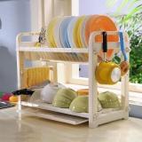 宝优妮碗架沥水架厨房置物架碗筷筷子筒收纳架刀架刀座碗碟架DQ1301