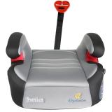 德国怡戈(Ekobebe) 汽车儿童安全座椅 增高垫 宝宝坐垫EKO-008 适用3岁-12岁 isofix硬接口 灰色