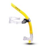 watertime 蛙咚 全湿式游泳呼吸管 专业训练游泳装备换气水下呼吸器 黄色