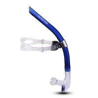 watertime 蛙咚 全湿式游泳呼吸管 专业训练游泳装备换气水下呼吸器 蓝色