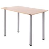 尼德(need) 多功能简约学习电脑桌子 家用办公 AC2AS(80*60)  E1级环保健康 粉橡面灰腿