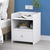 家乐铭品 卧室床头柜简约现代收纳小柜子 简易储物柜床边置物柜 H212