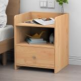 家乐铭品 床头柜卧室简约现代收纳小柜子简易储物柜床边置物柜 H210