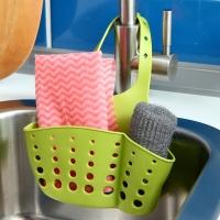 欧润哲 沥水篮 厨房水槽收纳挂篮清洁用品沥水架厨具置物收纳挂架 3只装