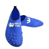 WaterTime蛙咚 男女成人速干透气多功能防滑浮潜鞋沙滩潜水鞋 宝蓝色XXL