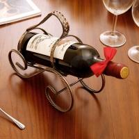 欧润哲 酒架 复古红酒置物架葡萄酒储物架酒具收纳架 扭线款