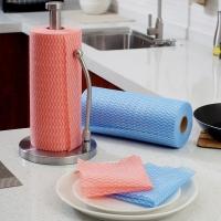 欧润哲 抹布 点断式无纺布多用途清洁擦碗布 200片装