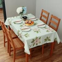 欧润哲 桌布 加厚布艺桌布 餐桌桌子防尘布 中号
