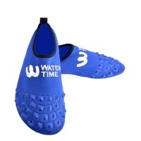 WaterTime蛙咚 男女成人速干透气多功能防滑浮潜鞋沙滩潜水鞋 宝蓝色M