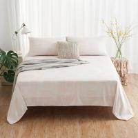 大朴(DAPU)床单家纺 A类床品 精梳纯棉斜纹床单 双人被单 单件 几何条纹 1.5米床 240*240cm