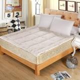 华康 棉花床垫褥子 新疆棉花床垫床褥 纯棉加大双人棉花床褥子1.8米床 180×200cm 4.5斤