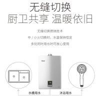 林内(Rinnai)11升静音恒温 水气双调 防冻 燃气热水器RUS-11QD01(天然气)(JSQ22-C01)