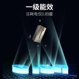 美菱(MELING)432升 十字对开多门电冰箱 一级双变频 风冷无霜 智能 节能静音 浅木棕 BCD-432WPU9CX