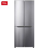 TCL 408升 風冷無霜十字多門雙對開電冰箱 AAT養鮮 變頻風機 寬薄機身(典雅銀)BCD-408WZ50