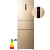 海信 (Hisense) 239升一級能效雙變頻三門電冰箱 綠色凈化艙養鮮 風冷無霜中門變溫室BCD-239WYK1DPS