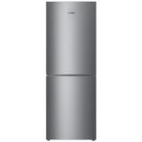 美菱(MELING)206升 双门冰箱 风冷无霜 小型两门电冰箱 电脑控温 家用宿舍节能静音 亚光银 BCD-206WECX