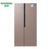 容聲(Ronshen)649升對開門雙門冰箱變頻風冷無霜家用電冰箱BCD-649WSS3HPMA