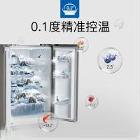 美菱(MELING)569升 对开门冰箱 一级能效 变频节能风冷无霜 双门大空间分储 玫瑰金 BCD-569WPCX