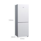 西门子(SIEMENS) 279升 风冷双门冰箱 全无霜 多维出风 电脑控温 LED内显(白色)KG29NV220C