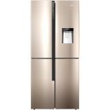 容聲(Ronshen) 460升 十字對開門四門電冰箱 水吧 一級變頻 獨立寬溫 艾弗爾系列 BCD-460WVK1FPMR