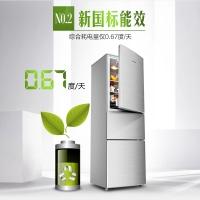 美菱(MELING)三门冰箱BCD-209M3CX + 热水器MD-YJ10503